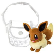Pokemon Eevee Cross Body Purse w/ Plush Included
