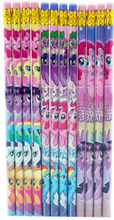 My Little Pony The Movie Wooden Pencils Pink/Green/Purple Pack of 12