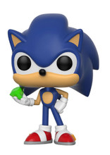 Funko Pop! Games: Sonic - Sonic with Emerald