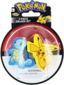 Pokemon 2 Piece Eraser Set - Pikachu and Squirtle