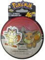 Pokemon 2 Piece Eraser Set - Meowth and Eevee