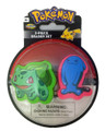Pokemon 2 Piece Eraser Set - Bulbasaur and Wobbuffet