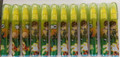 12X Ben 10: 5 piece Eraser Set - Yellow