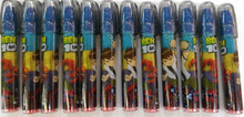 12X Ben 10: 5 piece Eraser Set - Dark Blue