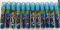 12X Ben 10: 5 piece Eraser Set - Light Blue