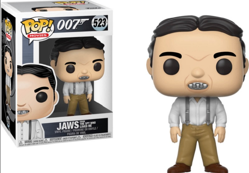 Funko Pop! Movies 007 James Bond Jaws (from the spy who loved me) Vinyl Figure #523