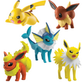 Pokemon Posed For Battle 5 multi Figure Pack