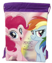 My Little Pony Purple Drawstring Bag