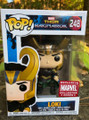 Funko Pop! marvel Thor Ragnarok Loki Vinyl Bobble-Head Figure #248 Exclusive Collector Corps