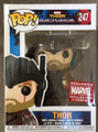 Funko Pop! Marvel Thor Ragnarok Thor Vinyl Bobble-Head Figure #247 Exclusive Collector Corps