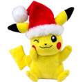 "Pokemon Pikachu 7.5"" Inch Christmas Plush"