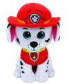 "Paw Patrol Beanie Boos TY Marshall Medium 11"" Plush Toy"