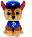 "Paw Patrol Beanie Boos TY Chase 11"" Medium Plush Toy"