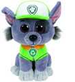 "Paw Patrol Beanie Boos TY Rocky 11"" Medium Plush Toy"