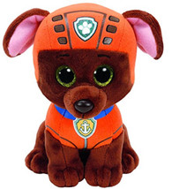 "Paw Patrol Beanie Boos TY Zuma 11"" Medium Plush Toy"