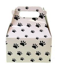 Paw Prints Party Favors Paper Box