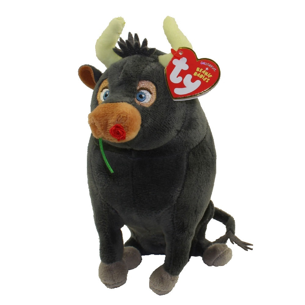 Ferdinand the Bull 6 Inch Plush Toy TY Beanie Babies