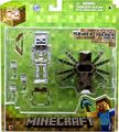 Minecraft Spider Jockey Pack Fully Articulated Figure