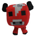 Minecraft -Baby Mooshroom 7'' Soft Plush Toy