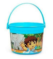 Diego Plastic Favor Bucket Container ( 1pc ) - Blue