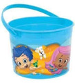 Bubble Guppies Plastic Favor Bucket Container ( 1pc )