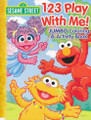 Coloring Book - Sesame Street - Elmo and Friends - 123 Play with Me
