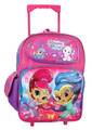 Rolling Backpack - Shimmer and Shine - Large 16 Inch