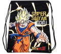 Drawstring Bag - Dragon Ball Z Super Saiyan Goku - Black