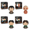 Funko Dorbz! Attack on Titan Vinyl Collectible Figures Bundle