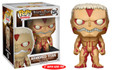 "Funko Pop! Animation Attack on Titan Armored Titan 6"" Vinyl Figure #473"