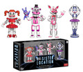 "Funko Five Nights at Freddy's 2"" Inch Figure Sister Location 4pk Collectible Vinyl Figure Set"