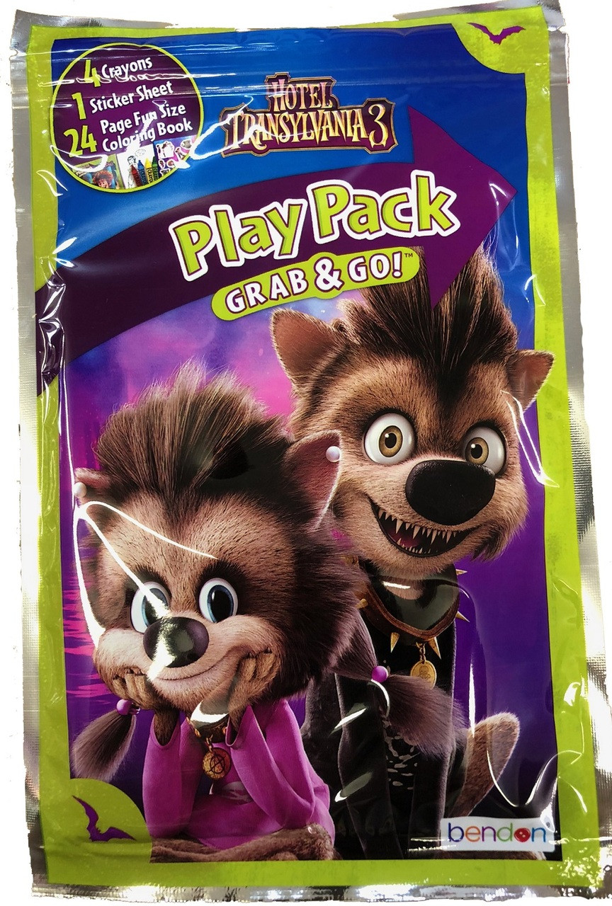 Hotel Transylvania Grab and Go Play Pack Party Favors