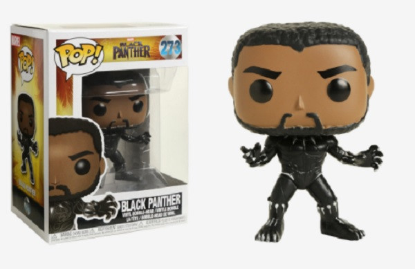 Funko Pop! Marvel Black Panther Vinyl Figure #273