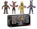 "Five Nights at Freddy's 2"" Inch Figure 4pk Collectible Vinyl Figure Set"