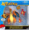 Pokemon Mega Charizard Y Figure Set