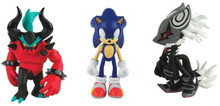 Sonic the Hedgehog - Infinite, Zavok, and Sonic with Accessory - 3 Inch - Action Figures