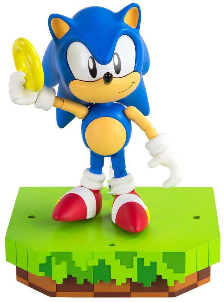Sonic The Hedgehog Action Figures Customized Sonic