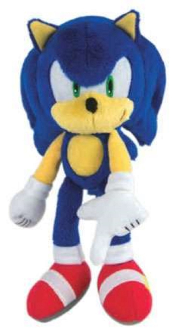 Sonic the Hedgehog - Modern Sonic - 8 Inch - Plush Toy (Finger Points Down)