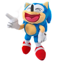Plush Toy - Sonic the Hedgehog - Classic Sonic - 8 Inch - Laughing