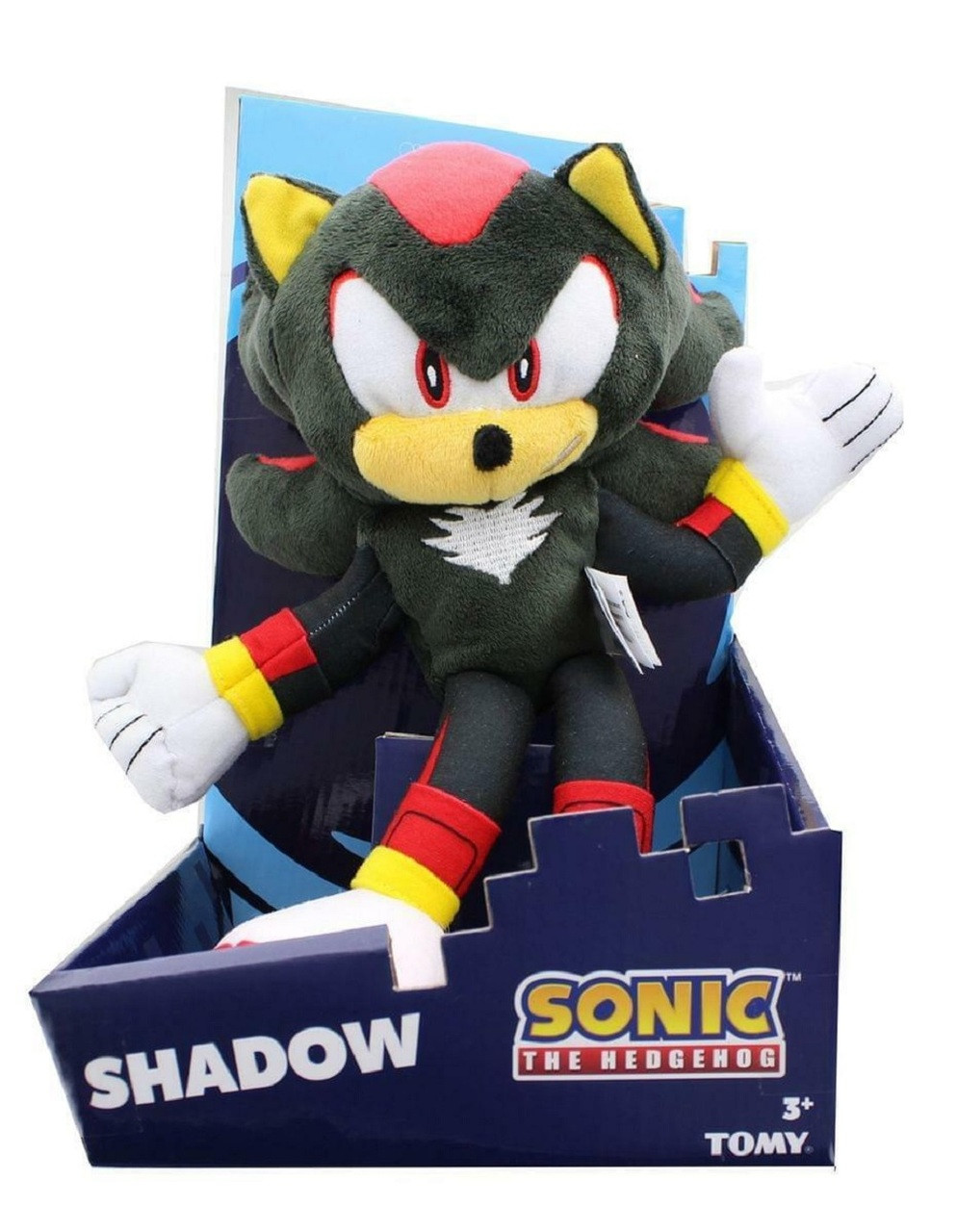 Shadow Sonic The Hedgehog 12 Inch Plush Toy Partytoyz Com