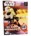 Coloring Book - Star Wars - Flame Trooper - 96 pages