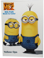 Coloring Book - Despicable Me 2 (Minions) - Yellow Ops - 96 pages
