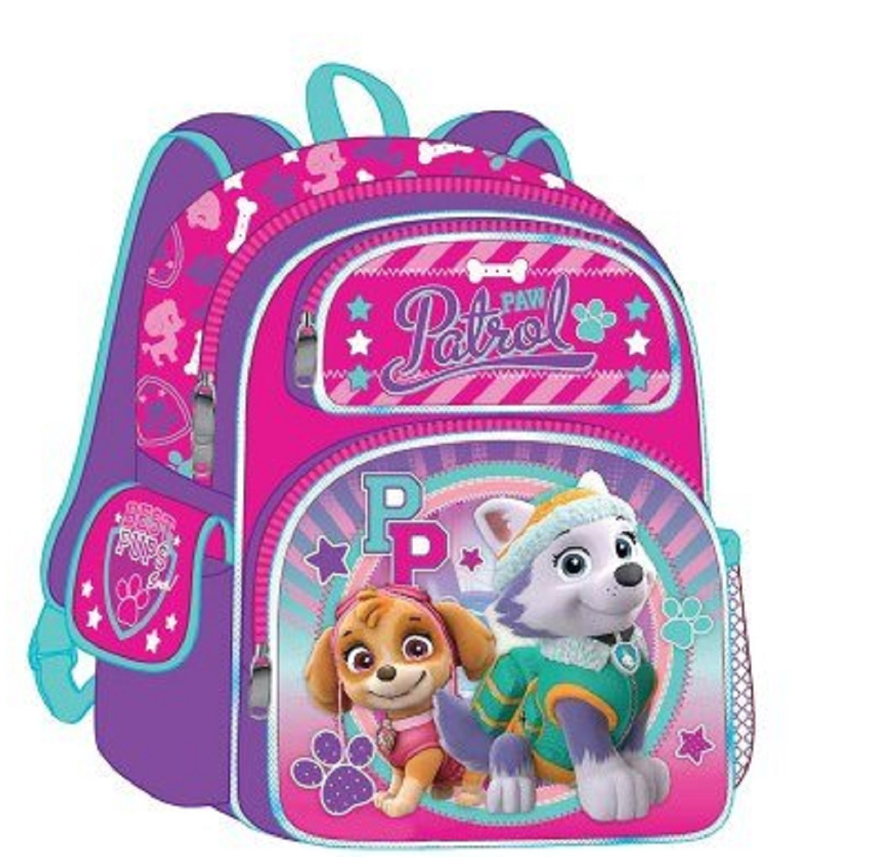 "Backpack - Paw Patrol - Small 12"" Inch - Skye and Everest"