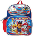 "Backpack - Paw Patrol - Small 12"" Inch - Boys - Blue"
