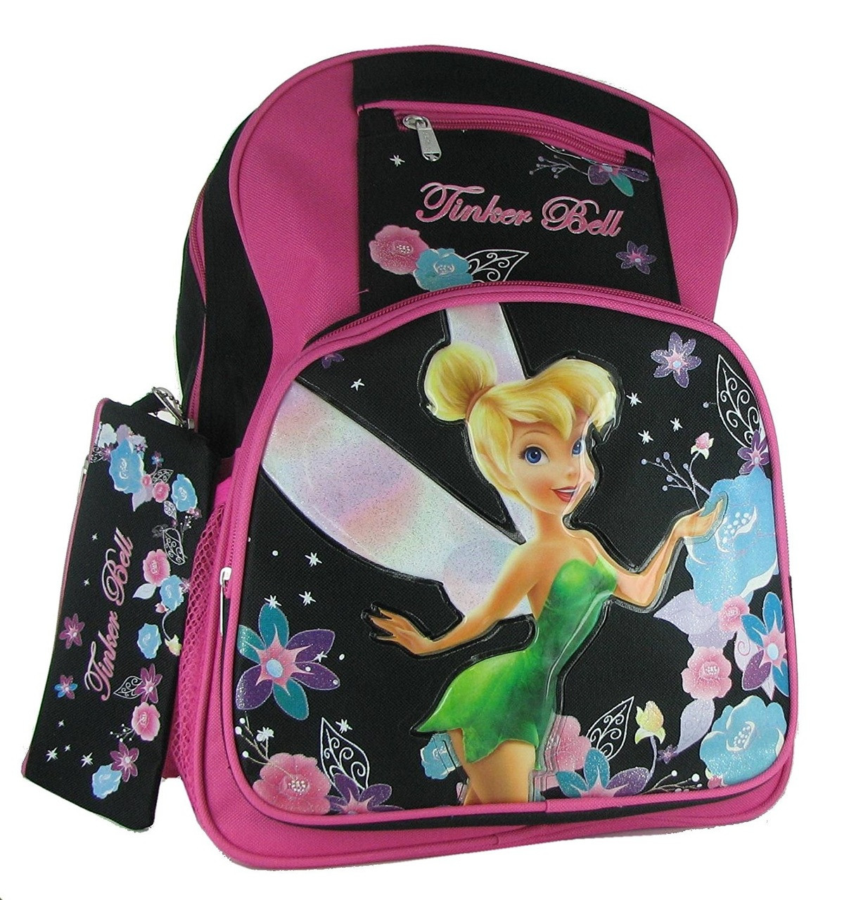 Backpack - Tinkerbell - Large 16 Inch - Girls