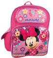 Backpack - Minnie Mouse - Large 16 Inch - Girls