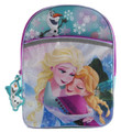 Frozen - Large 16 Inch - Backpack - Girls Hugging