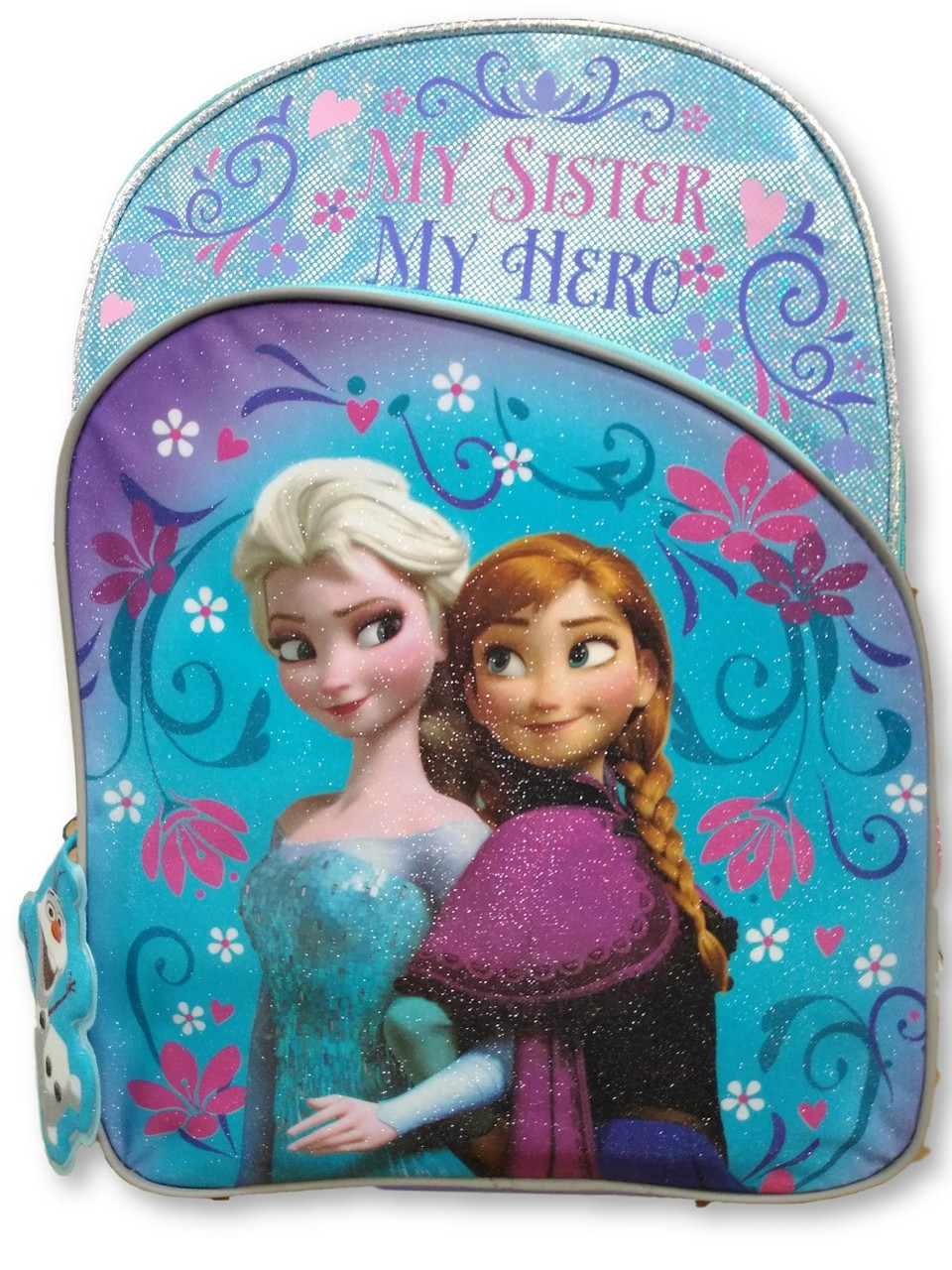 Backpack - Frozen - Large 16 Inch - Girls - My Sister, My Hero