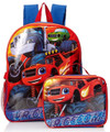Blaze Monster Machine - Backpack - Large 16 Inch - with Lunch Box - Boys