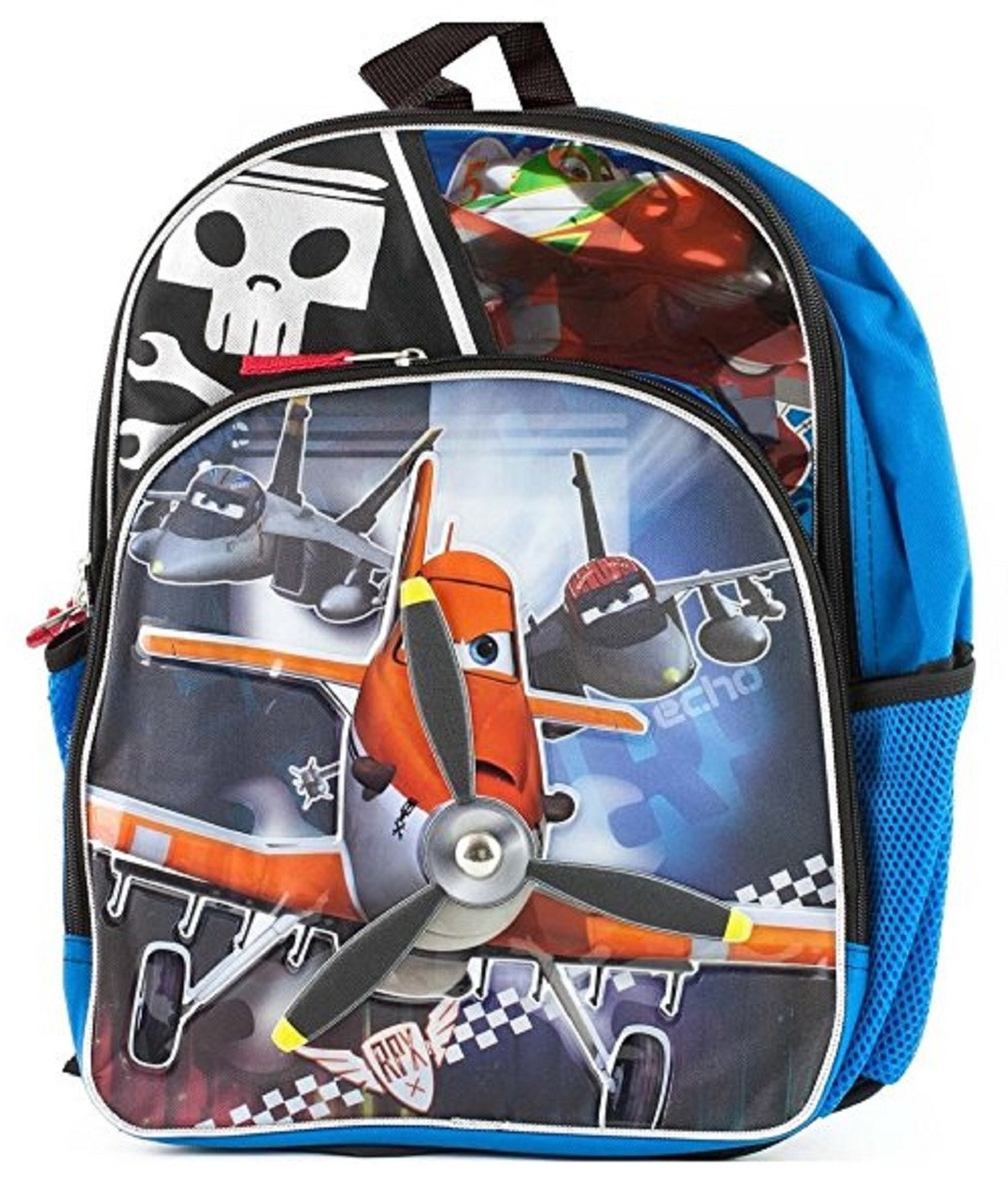 Planes - Large 16 Inch - Backpack - Boys